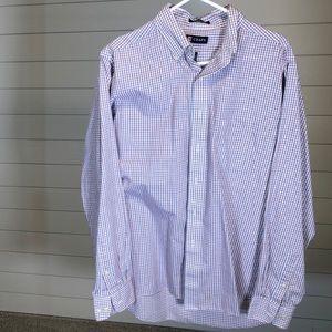 Men's Chaps dress shirt- large